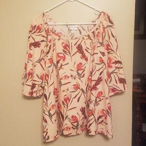 Ava & Viv floral blouse